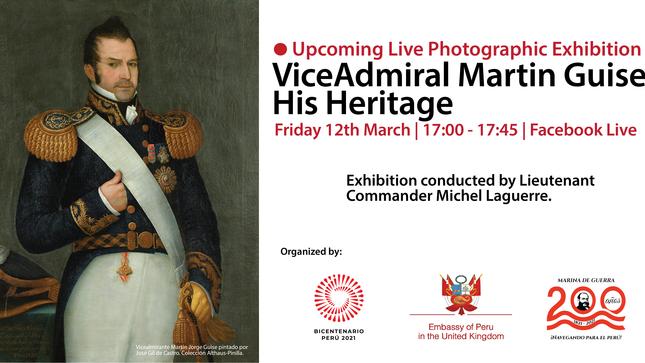 """Ver campaña Exhibición Virtual  """"Vice-Admiral Martin Guise, His Heritage"""""""