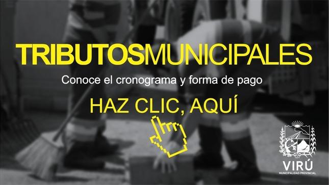 Ver campaña Tributos Municipales de la Municipalidad Provincial de Virú