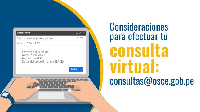 Información necesaria al efectuar tu consulta virtual