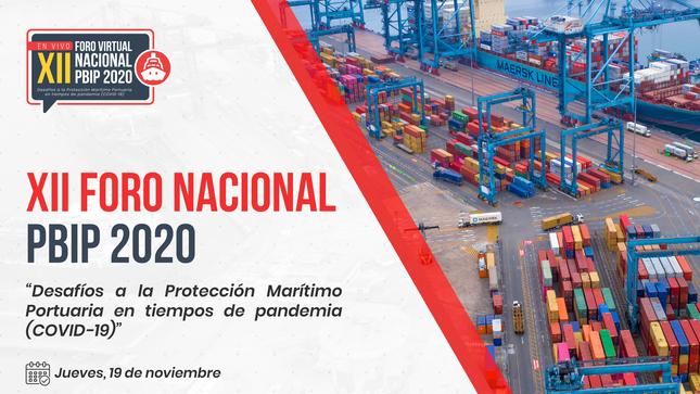 XII Foro Nacional Virtual PBIP 2020