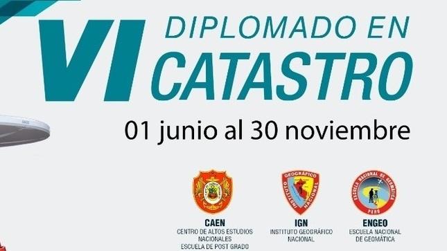 Ver campaña VI Diplomado en Catastro