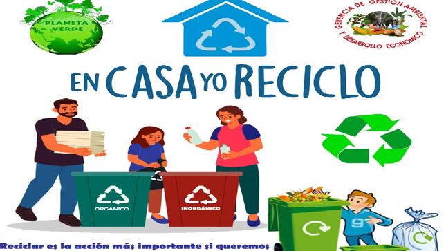 Por un mundo Mejor, todos reciclemos.