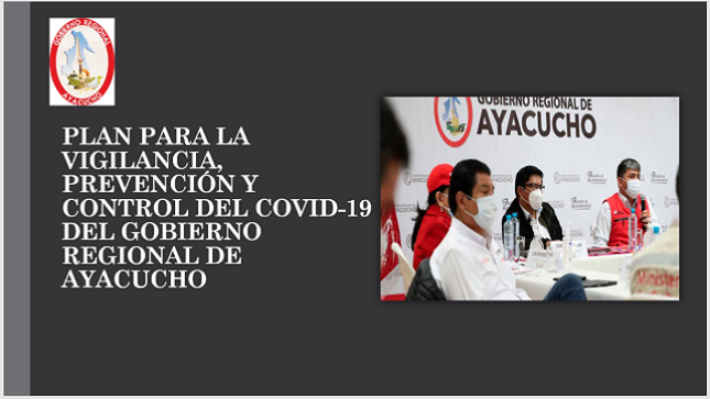Ver campaña Plan Para la Vigilancia, Prevención y Control del COVID-19