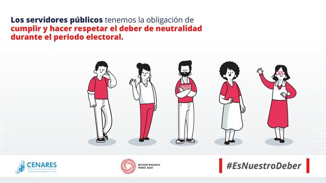 Ver campaña Campaña de Neutralidad Electoral en el sector público