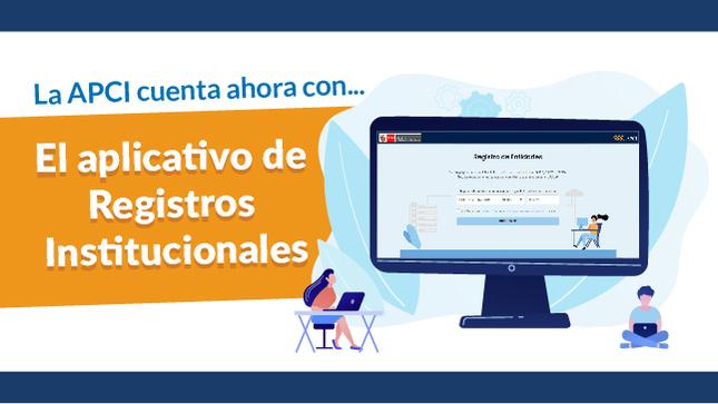 Ver campaña APCI lanza aplicativo de registro virtual