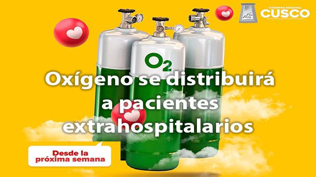 Ver campaña Oxigeno se distribuirá a pacientes extrahospitalario
