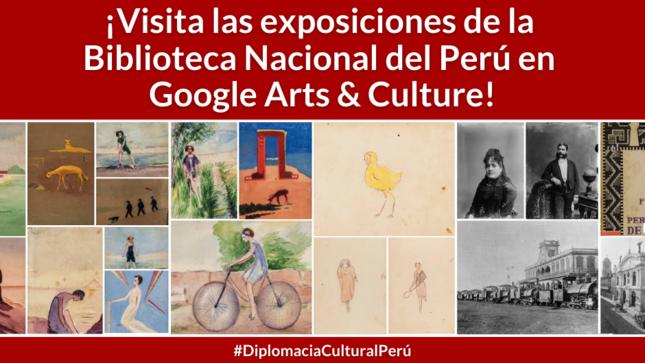 Ver campaña Biblioteca Nacional del Perú en Google Arts & Culture