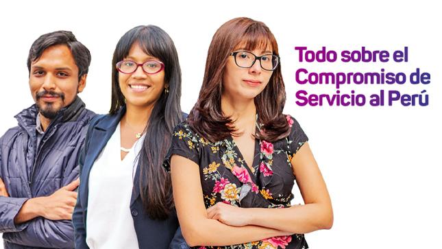 Ver campaña ¿Qué es el Compromiso de Servicio al Perú?