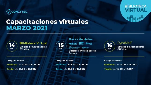 Ver campaña Capacitaciones virtuales gratuitas de la Biblioteca Virtual