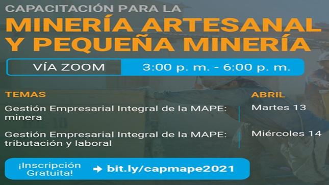Minería Artesanal y Pequeña Minería