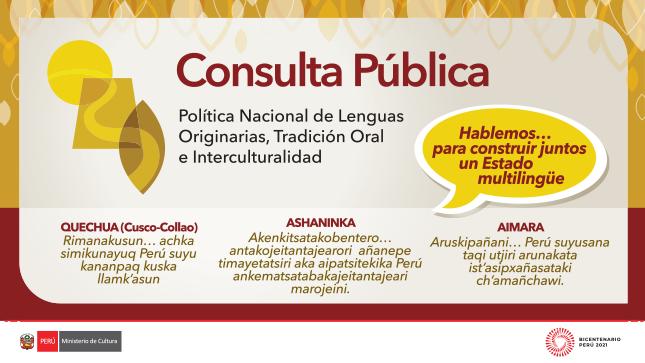 Ver campaña Consulta Pública PNLOTI