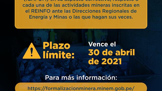 Instrumento Gestión Ambiental para la Formalización Minera