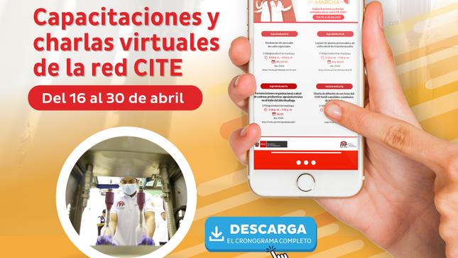 Ver campaña Conoce el calendario de capacitaciones del ITP red CITE