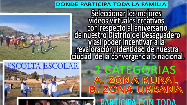 I concurso virtual de videos alusivos al aniversario de Desa