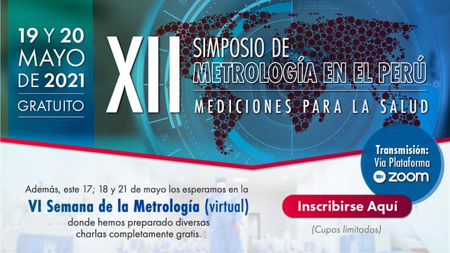 Ver campaña XII Simposio de Metrología en el Perú