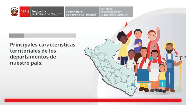 Perú: información territorial departamental