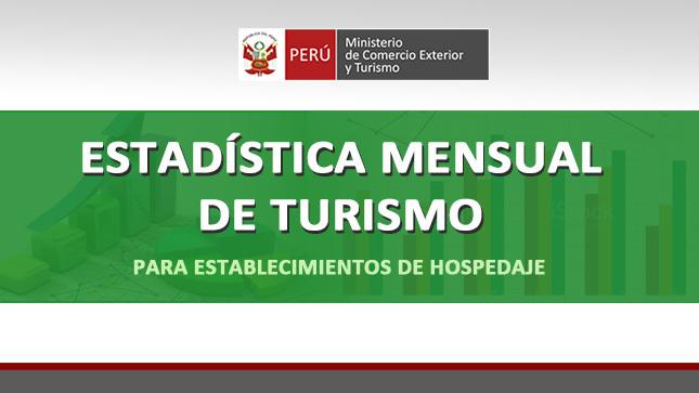 Cómo presentar Encuesta Mensual de Turismo