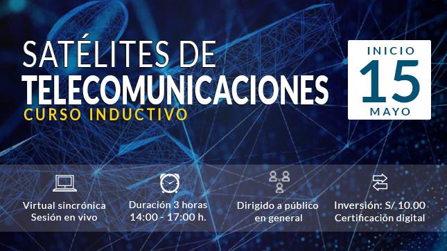 Ver campaña Curso inductivo: Satélites de telecomunicaciones