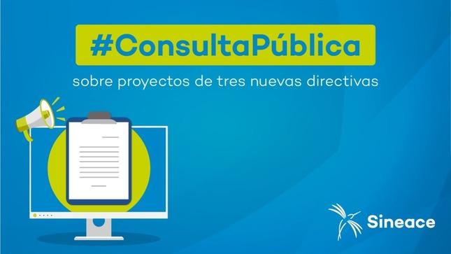 Ver campaña Consulta ciudadana: Directivas en torno a la acreditación