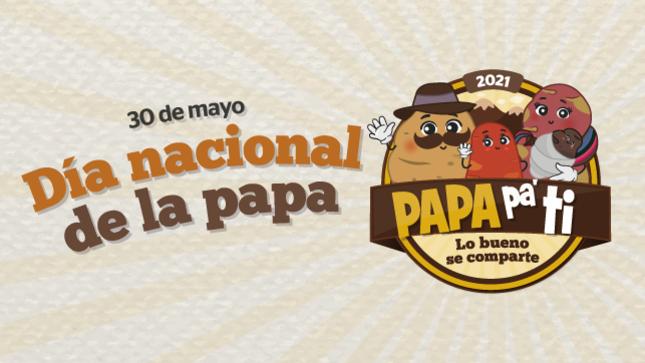 """Día Nacional de la Papa """"PAPA pa' ti"""", lo bueno se comparte"""
