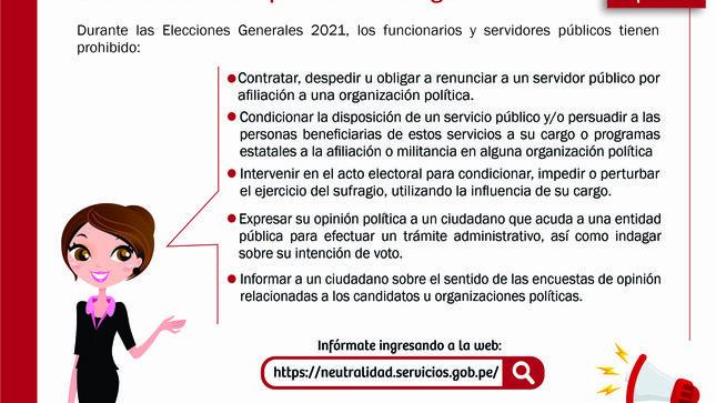 Ver campaña Neutralidad Electoral 2021