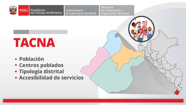 Tacna: información territorial