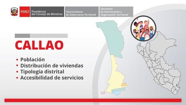 Callao: información territorial