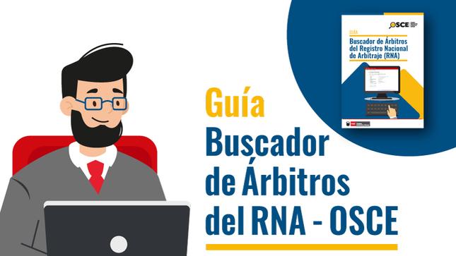 Accede a la Guia del Buscador de Árbitros del RNA-OSCE