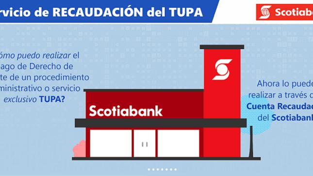 Servicio de Recaudación del TUPA