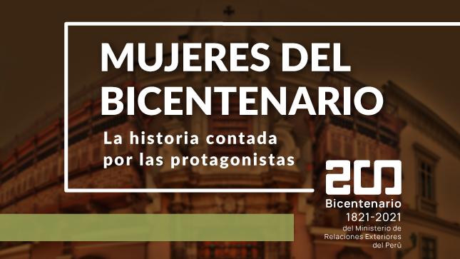 Mujeres del Bicentenario