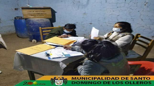 Campaña de empadronamiento de Pensión 65 en anexo Cuculí