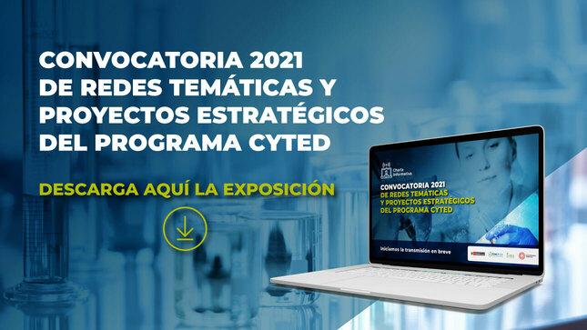 Convocat.2021 Redes Temáticas y Proyectos Estratégico CYTED