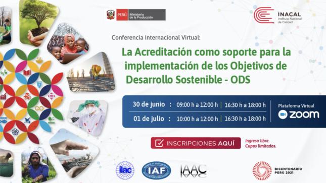 Conferencia Internacional Virtual