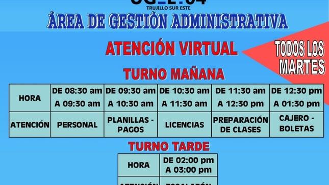 Atención Al Público - Área De Gestión Administrativa