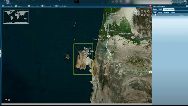Guía de solicitud y descarga de imágenes del PerúSAT-1