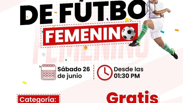 Convocatoria Pre Selección de Fútbol Femenino