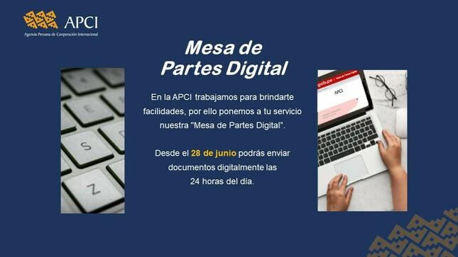 Mesa de Partes Digital de la APCI