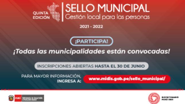 Sello Municipal -  Gestión local para las personas