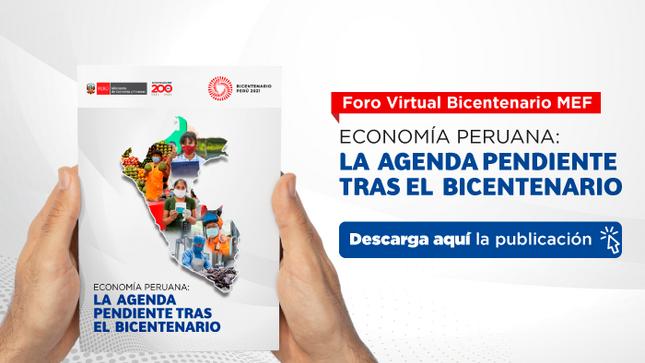 Foro virtual Bicentenario MEF