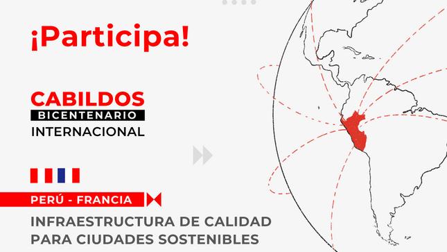 """Cabildo del Bicentenario """"Perú-Francia"""""""