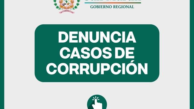 Denuncia Casos de Corrupción