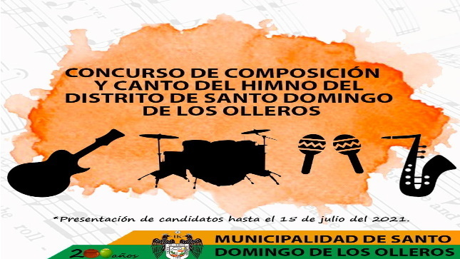Concurso de Composicion y Canto de Himno - MDSDO