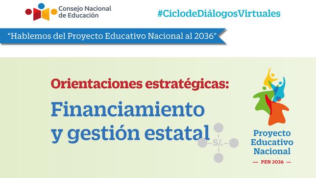 """Diálogo """"Financiamiento y gestión estatal"""""""