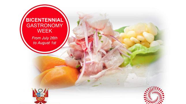 Semana Gastronómica del Bicentenario - 26 Julio al 1 Agosto