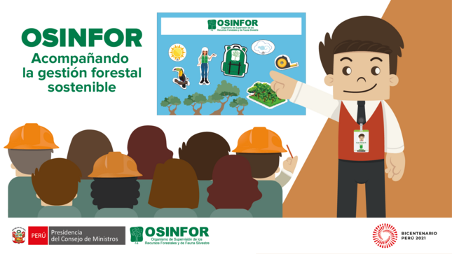 Talleres de capacitación del OSINFOR - Julio 2021