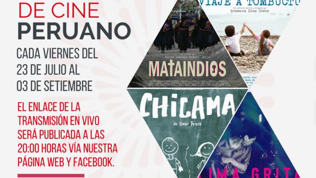 """Lanzamiento del """"Ciclo de Cine Peruano"""""""