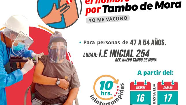 #JuntosPorElVacunatón #TamboDeMora
