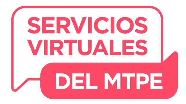 Servicios Virtuales del MTPE