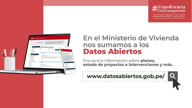 MVCS en la Plataforma Nacional de Datos Abiertos