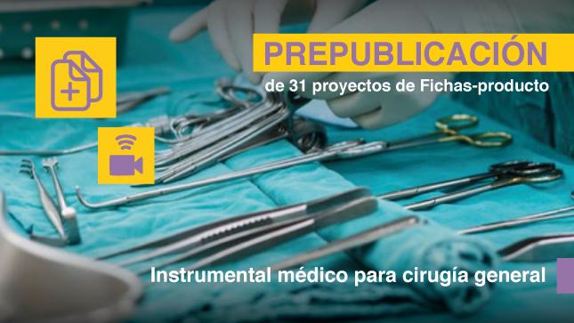 Prepublicación de Estructuras de Fichas - Producto